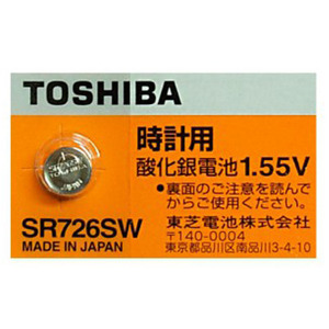 SR726SW-BP(1.55V 28mAh)To